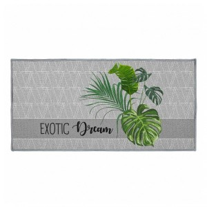 Tapis multi-usage (115 cm) Exographic Gris