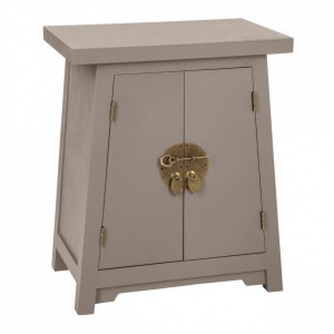 Table de chevet Asia Taupe
