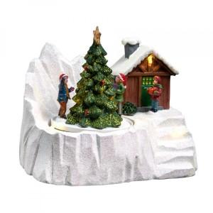 Décorations de Noël sapin de Noël Bijoux Décoration Oslo 3er-set
