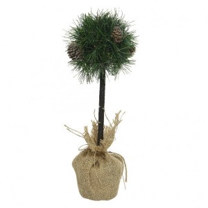 Sapin artificiel de table Mini boule H40 cm Vert