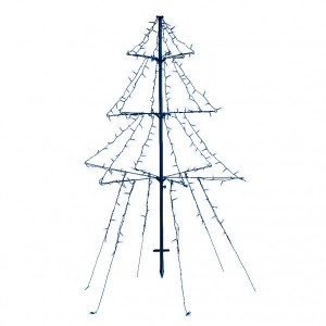 Sapin lumineux Blanc froid 240 LED