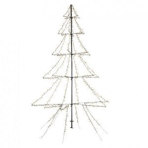 Árbol luminoso Blanco cálido 600 LED