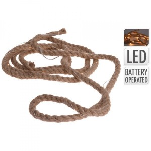 Lichtsnoer Rope warmwit 30 LED