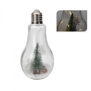 Bombilla luminosa Snowf Blanco cálido 5 LED