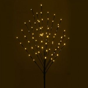 LED Baum Kirsche Pick H110 cm Warmweiß