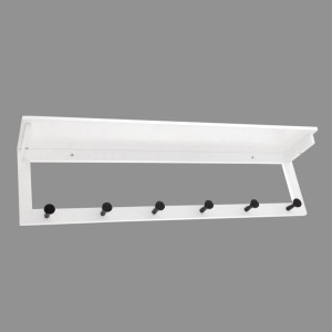 Percha de pared Luk Blanco