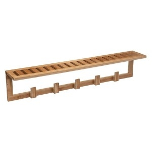 Perchero de pared Bamboa Madera
