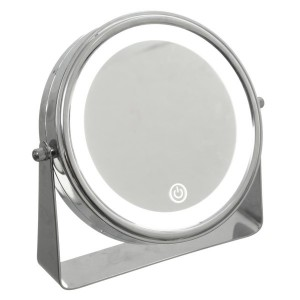 Espejo LED Pie Cromo