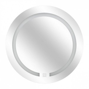 Miroir LED Rond Transparent