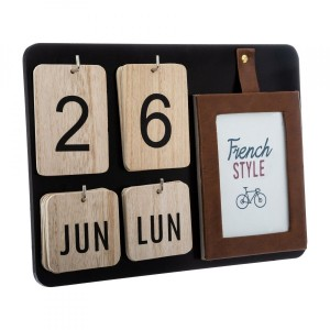 Calendario French Marrone