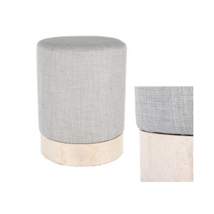 Pouf (30 cm) Scandinavie Gris clair