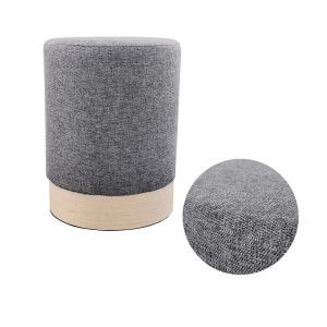 Pouf (30 cm) Scandinavie Gris anthracite