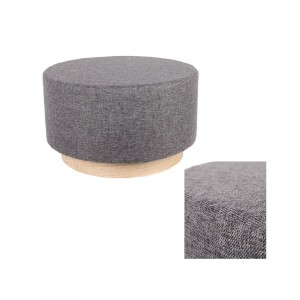 Pouf (60 cm) Scandinavie Grigio antracite