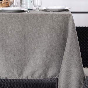 Nappe rectangulaire (L200 cm) Bea Taupe
