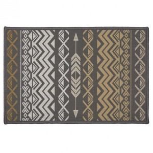 Tapis multi-usage (60 cm) Zaparos Or et gris