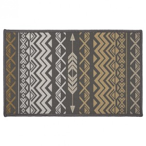 Tapis multi-usage (80 cm) Zaparos Or et gris