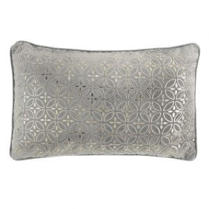 Coussin velours rectangulaire Tolara Or