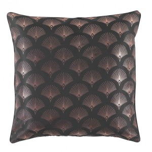 Coussin (60 cm) Goldy Gris anthracite