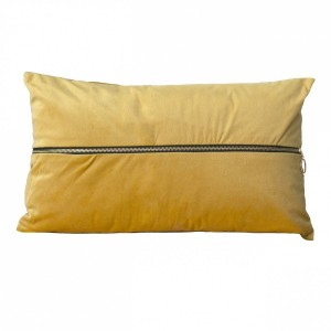 Coussin rectangulaire Nounours Jaune moutarde