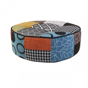Pouf Patchwork Multicolore