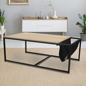 Table basse Nate Noire