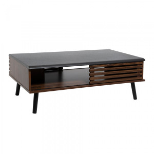 Table basse Asmar Marron