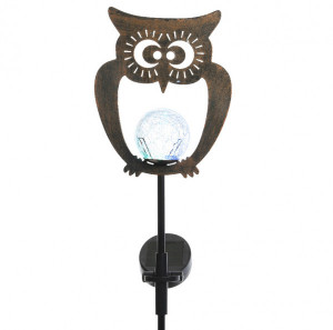 Silhouette luminosa solare  LED Animal - Multicolore