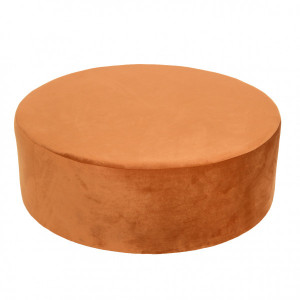 Pouf Dick Orange terracotta
