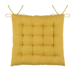 Coussin de chaise Berlin Jaune curry