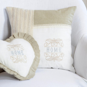 Coussin (40 cm) Charline Beige