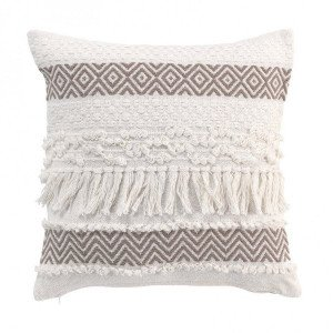 Coussin (40 cm) Zya Taupe