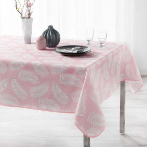 Nappe rectangulaire (L240 cm) Lifette Rose