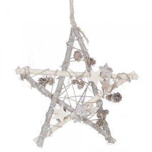 Suspension Branchage Blanc