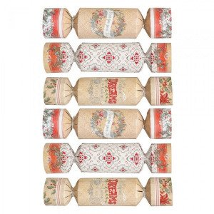Lot de 6 crackers Surprise Multicolore