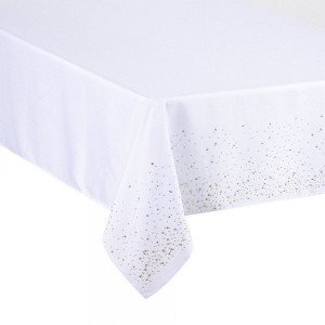 Nappe rectangulaire (L240 cm) Strass Or