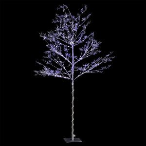 Arbre lumineux Silver H120 cm Blanc froid
