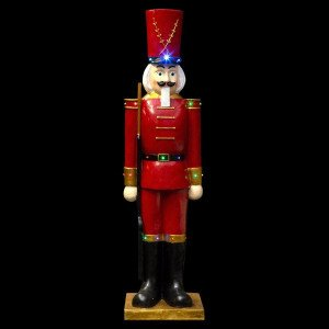 Soldat Casse-noisette lumineux Nutcracker H185 cm multicolore