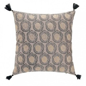 Coussin (45 cm) Onyxia Taupe