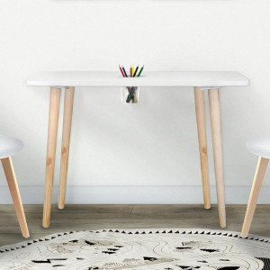 Table Gribouille Blanche