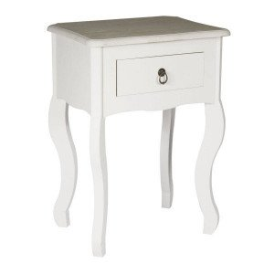 Table de chevet Victoria Blanche