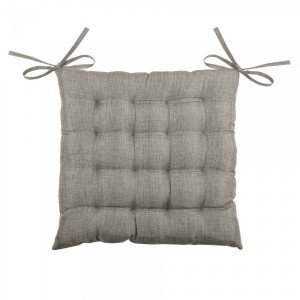 Coussin de chaise Bea 16 points Gris chiné