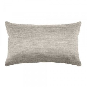 Coussin rectangulaire Bea Taupe clair