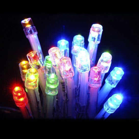 Guirlande lumineuse 20 LED CT 2 m Multicolore