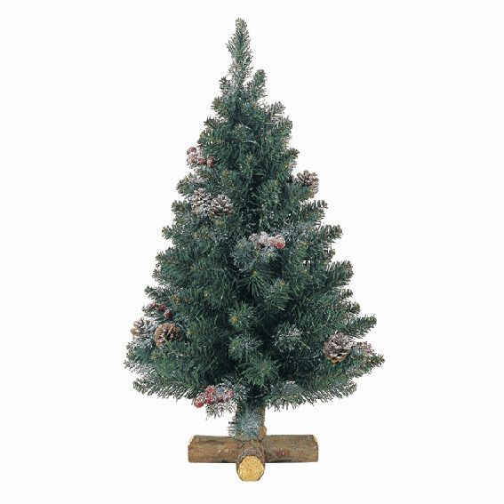 Sapin artificiel de table Sherwood H35 cm Vert sapin