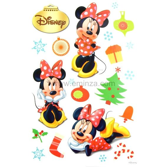 Vitrostatique Disney Minnie
