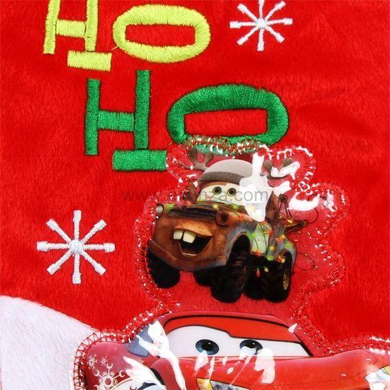 chaussette de nol disney cars multicolore - Chaussette De Noel Disney