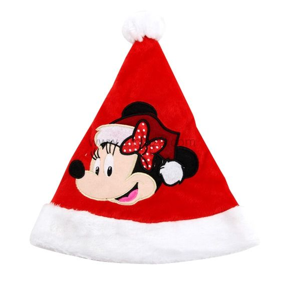 Bonnet de Noël Disney tête de Minnie