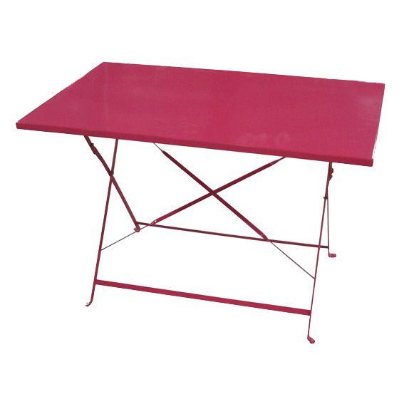table de jardin salon de jardin repas et detente eminza. Black Bedroom Furniture Sets. Home Design Ideas