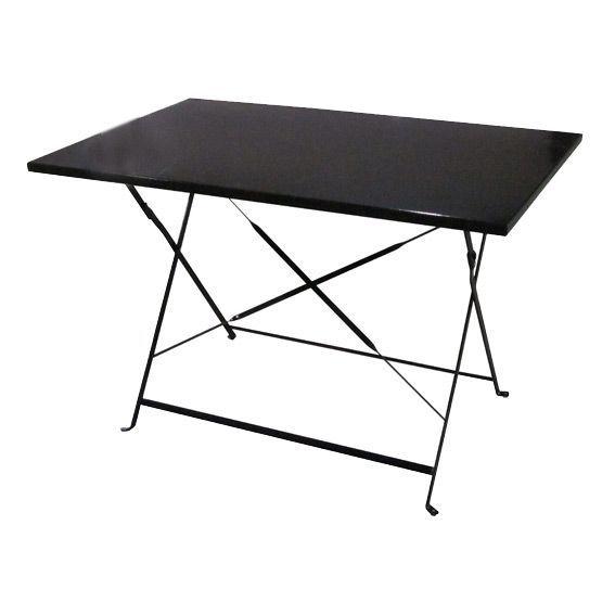 Table De Jardin Metal Pliante. Beautiful Table De Jardin En Metal ...