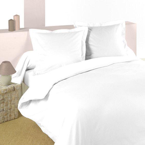 Housse de couette (240 cm) Confort Blanche